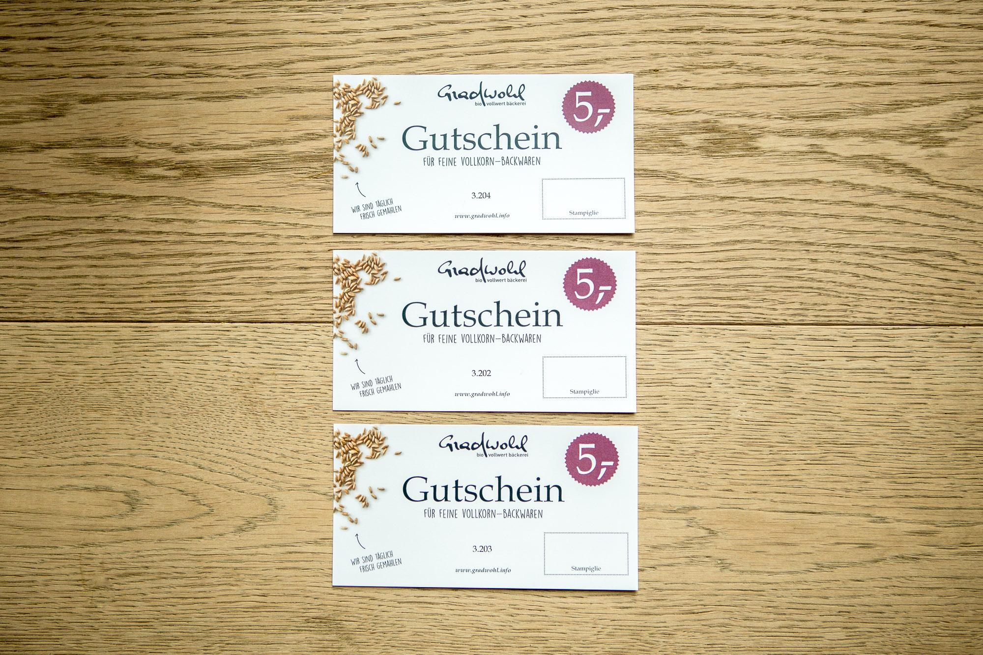 fe6d099cce Gutschein | Bäckerei Gradwohl
