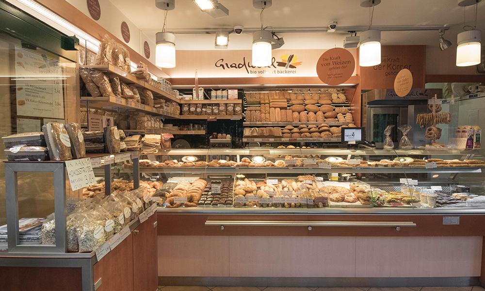 Bio Bäckerei Gradwohl Naschmarkt